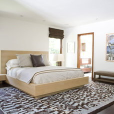 Contemporary Bedroom by Tim Clarke Design