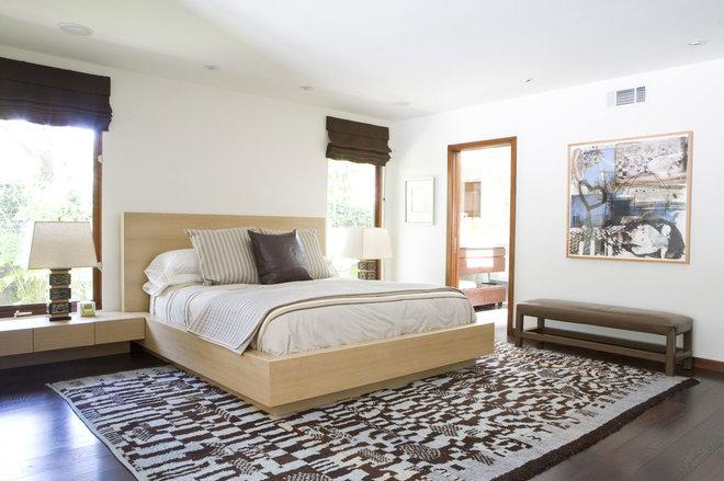 اتاق خواب معاصر توسط تیم طراحی کلارک