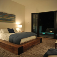 Modern Bedroom by See Construction
