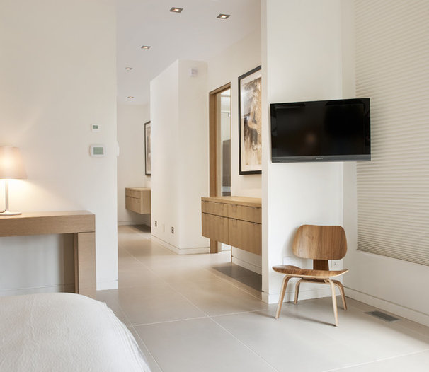 Contemporary Bedroom by Design First Interiors