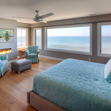 Beach Style Bedroom by Hill Construction Company
