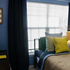 Modern Bedroom by Dwell by Cheryl Interiors