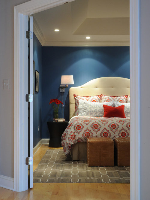 Navy Blue Bedroom Ideas Pictures Remodel and Decor
