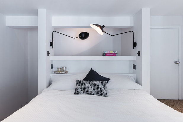 Contemporary Bedroom by Duck and Shed