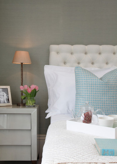 Transitional Bedroom by Jess Lavers Design