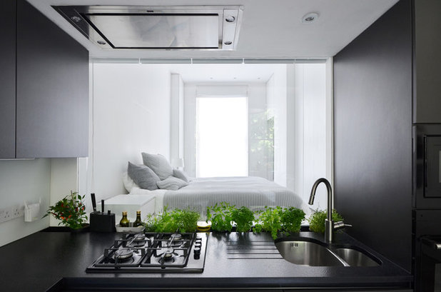 Contemporary Bedroom by Daniele Petteno Architecture Workshop