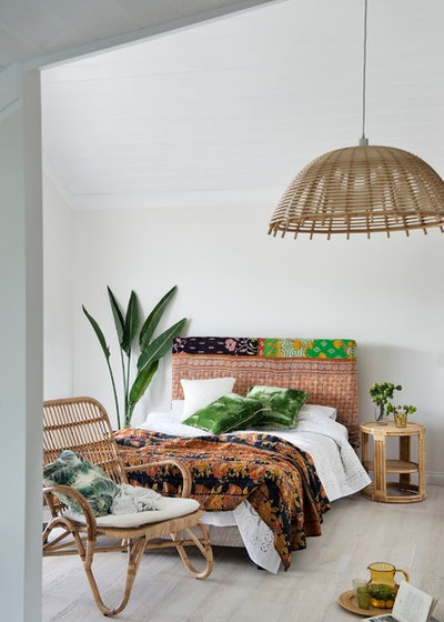 Tropical Bedroom by Bowerhouse