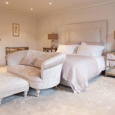 Transitional Bedroom by Rosebank Interiors