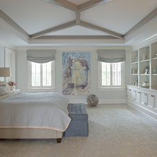 Transitional Bedroom by RR Builders, LLC