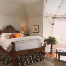 Traditional Bedroom by Julianne Stirling
