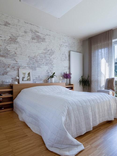 saveemail - Brick Wallpaper Bedroom Ideas