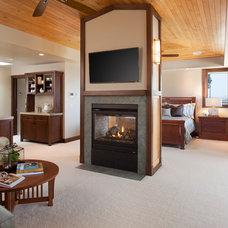 Craftsman Bedroom by Dawson Design Group
