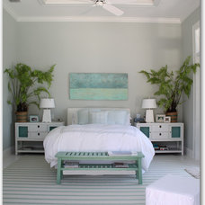 Tropical Bedroom by Molly Frey Design