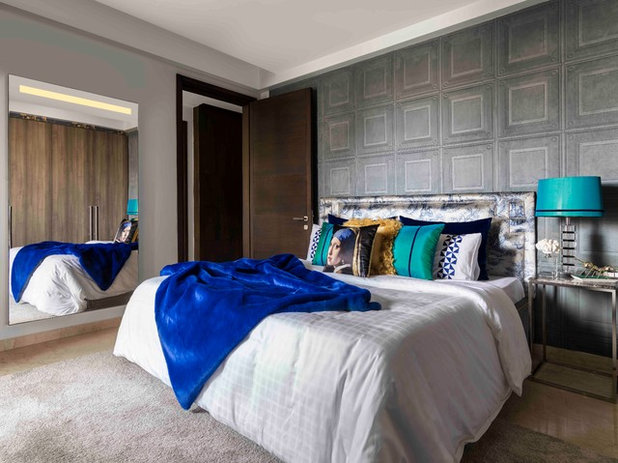 Eclectic Bedroom by SANJYT SYNGH