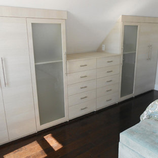 Example of a trendy bedroom design in San Diego