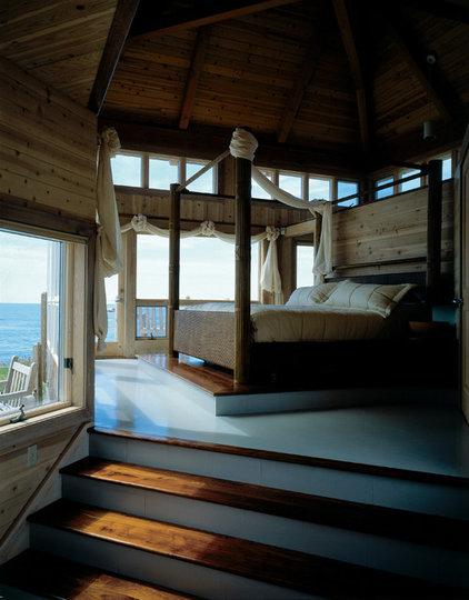 Eclectic Bedroom by Habitat Post & Beam, Inc.