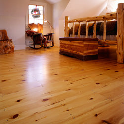 New England Red Pine Wide Plank Flooring - Heritage Wide Plank Flooring