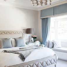 Transitional Bedroom by Highgate House