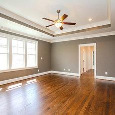 Transitional Bedroom by Main Street Design Co. LLC