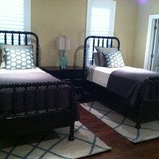 Transitional Bedroom by CANDICE ADLER DESIGN LLC