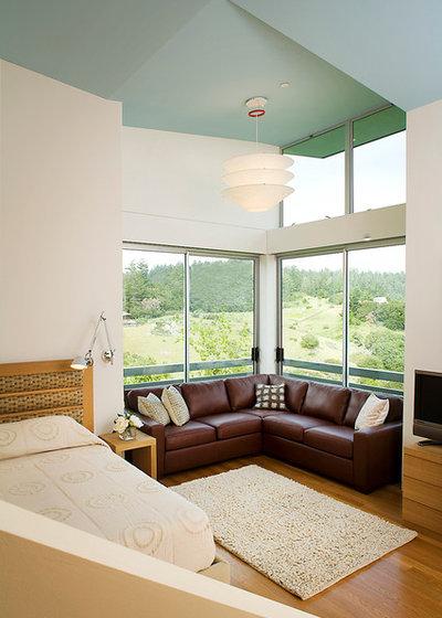 Contemporary Bedroom by Kerr Construction, Inc.