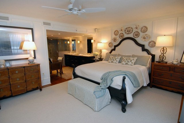 Traditional Bedroom by Del Mar Company