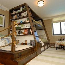 Eclectic Bedroom by Del Mar Company