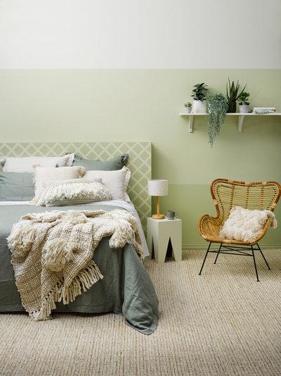 Bedroom by Resene