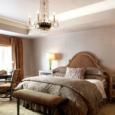 Traditional Bedroom by Stephanie Wohlner Design