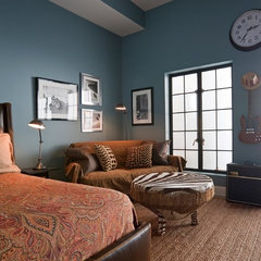 traditional bedroom by Deborah French Designs