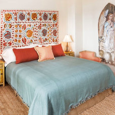 Eclectic Bedroom by Deborah French Designs
