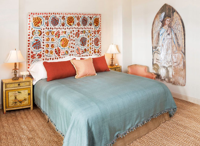 Eclectic Bedroom by Deborah French Designs