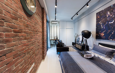 Houzz Tour: A New York Vibe Enlivens This Studio Penthouse