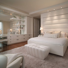 contemporary bedroom by Pepe Calderin Design- Miami Modern Interior Design