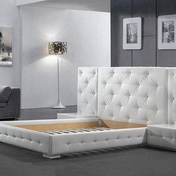 New York NYC Modern Platform Bed Reims - $1,699.00
