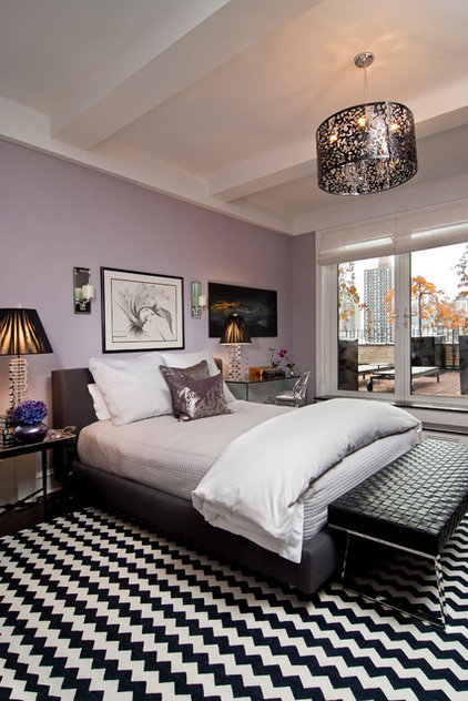 Contemporary Bedroom by Beret Design Group, Inc.