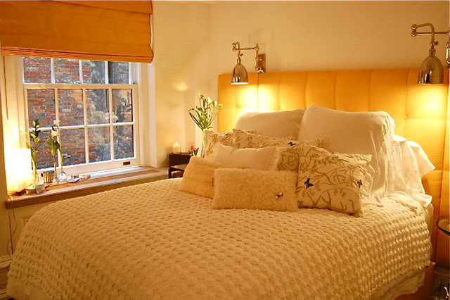 Transitional Bedroom by Greeson & Fast Design