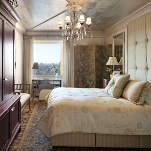Bedroom - traditional master bedroom idea in New York