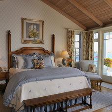 Beach Style Bedroom by Denise Foley Design Inc