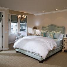 Beach Style Bedroom by JillThomson Design