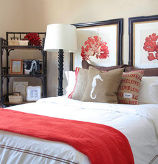 contemporary bedroom by Jessica Bennett Interiors