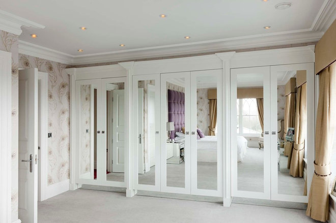 Contemporary Bedroom by Heaven & Stubbs Bespoke Furniture Ltd