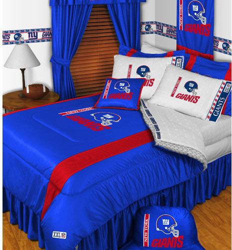 NFL New York Giants Bedding And Room Decorations