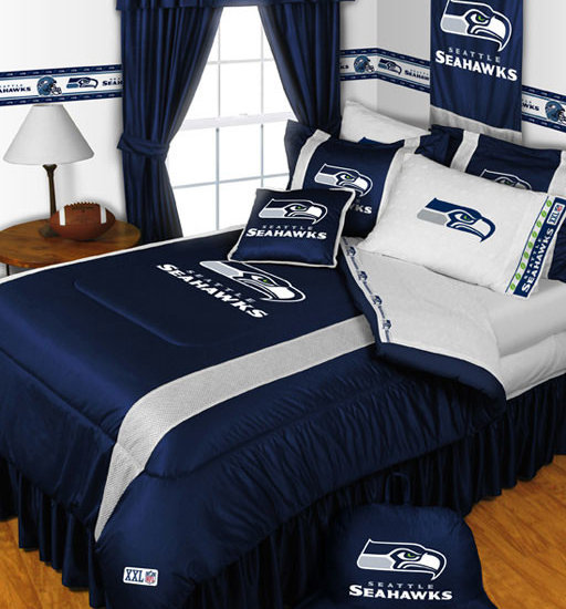 nfl seattle seahawks bedding and room decorations