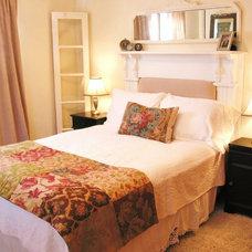 Eclectic Bedroom Niesz Vintage Fabric & Design