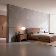 moderno dormitorio by usona - Dormitorio Con Vestidor