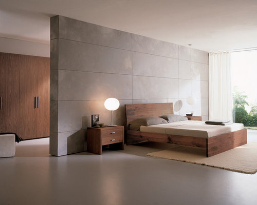 modern bedroom furniture ideas. Minimalist Bedroom Photo In Philadelphia With Gray Walls Modern Furniture Ideas