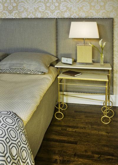 Contemporary Bedroom by Molly McGinness Interior Design