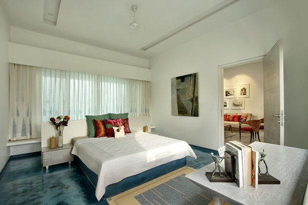 Contemporary Bedroom by Dipen Gada and Associates