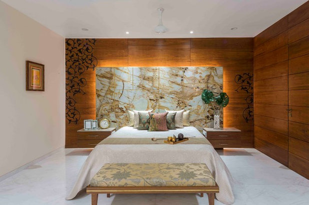Contemporary Bedroom by Usine Studio